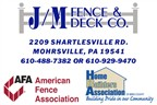 J/M Fence & Deck Co.